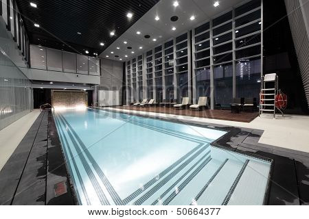 Swiming Pool Inside Building