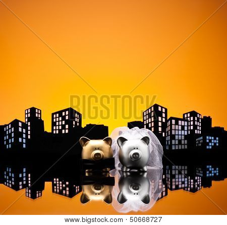 Metropolis City Pig Wedding