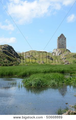 View of Smailholm Tower