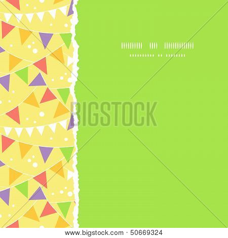 Party Decorations Bunting Square Torn Seamless Pattern Background