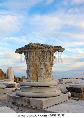 Ruins Of The Ancient City, Side, Turkey