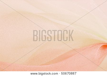 organza macro blurry texture background