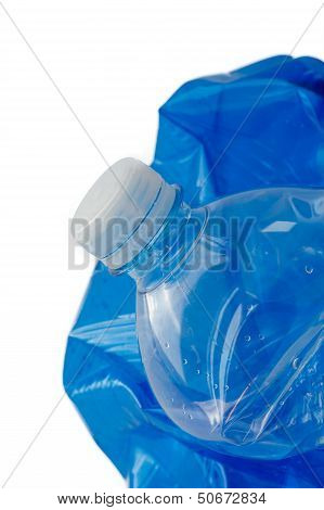 Plastic Bottle Closeup