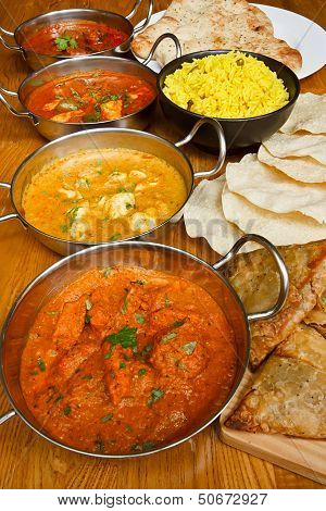 Indian Cuisine Selection