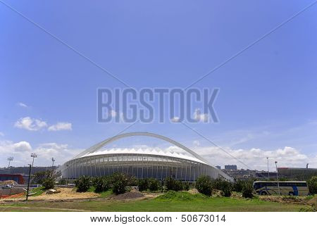 the Moses Mabhida stadium of Durban