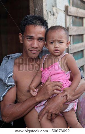 Filipino Father And Son