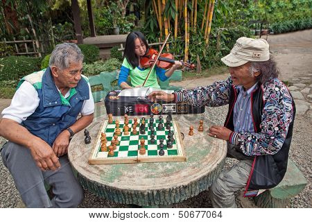 Chess And Violin