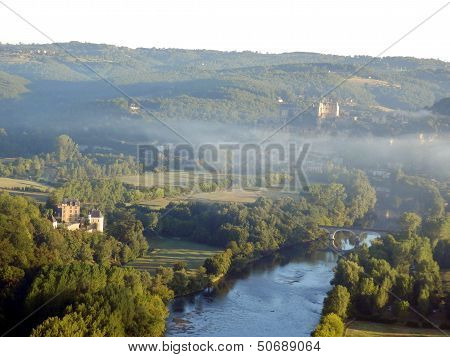 Dordogne Landscape at Sunrise