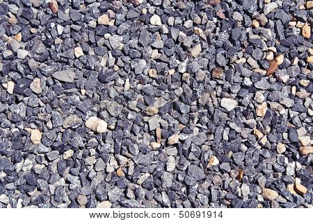 Pebble Stones As Background