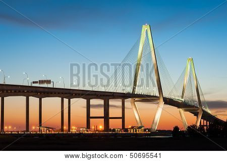 Charleston SC Ravenel Cooper River Bridge