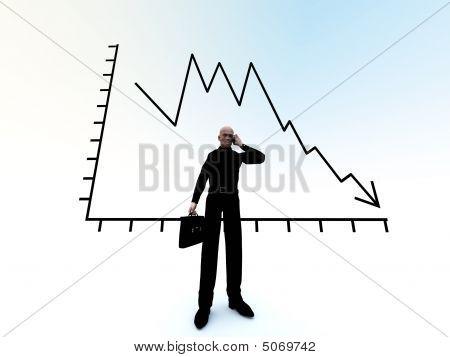 Kaufmann und Credit Crunch-graph