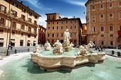 stock photo of piazza  - Piazza Navona - JPG