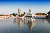 stock photo of tamil  - thanumalayan temple suchindram kanyakumari tamil nadu india - JPG