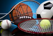 image of indoor games  - Sport equipment and balls - JPG