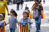 Catalan Way, Demanding The Independence Of Catalonia