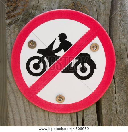 No Motorcycles