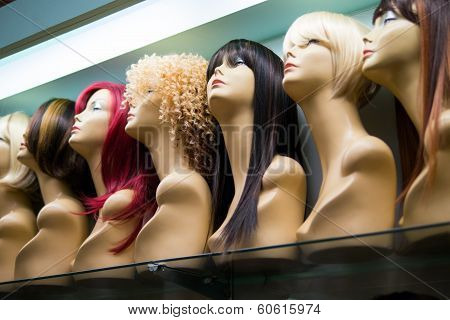 Row of Mannequines