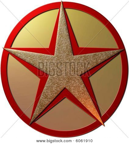 Red  Gold Star
