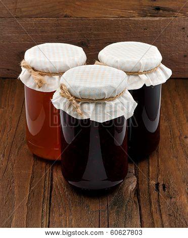 Set Of Three Conserve Jars
