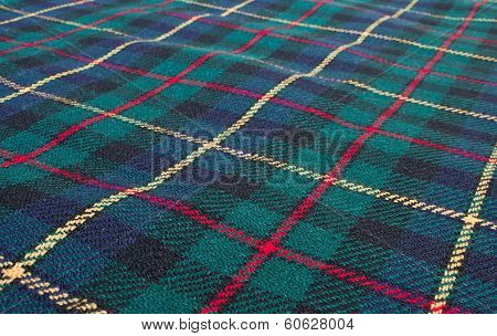 Scottish Highland Tartan Weave