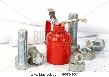 Red Oiler,  Bolts And Nuts