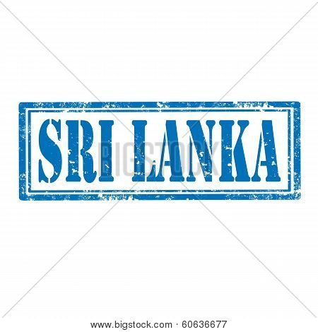 Sri Lanka-stamp