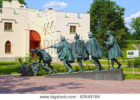 Sculpture A. Taratynov By Bruegel Painting