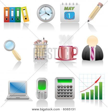Icon set-Office