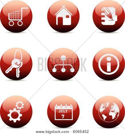Iconos de Internet