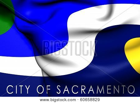 Flag Of Sacramento