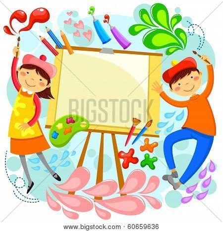 artistic children