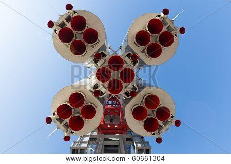 Rocket Vostok View From Below