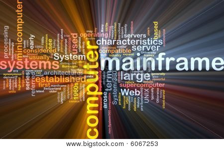 Mainframe Word Cloud im Paket