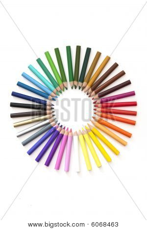 Pencil Colourwheel