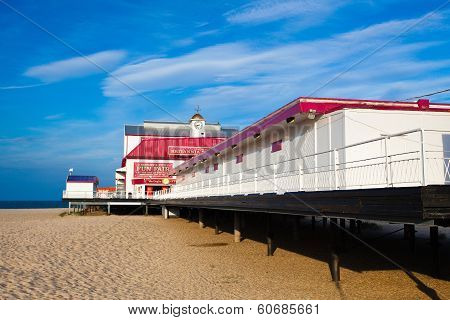 The Old Pier  In Great Yarmouth.