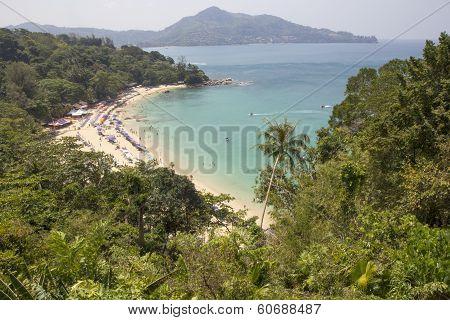 View Of Laem Singh Beach