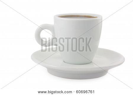 Black Coffee Espresso Cup