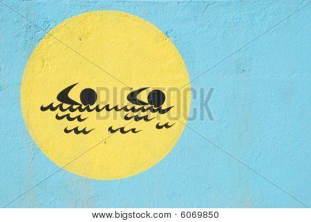 Graffiti Wall (sports Theme)