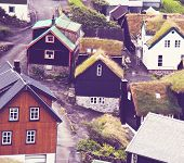 stock photo of faro  - Faroe islands - JPG