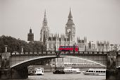 picture of westminster bridge  - Big Ben - JPG