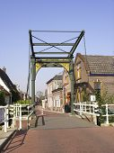 Historic Cast Iron Drawbridge Anno 1887