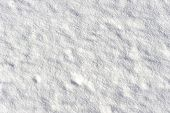 stock photo of oblique  - Smooth field of snow oblique lit bij the low standing sun - JPG