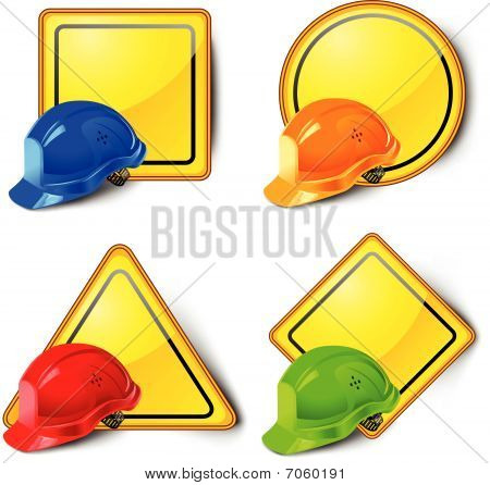 Road signs & helmets
