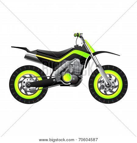 Futuristic Neon Bike
