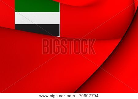Civil Ensign Of United Arab Emirates
