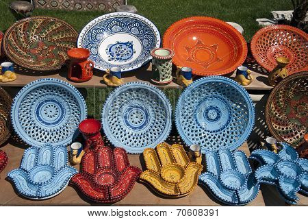 Crockery from Tunisia