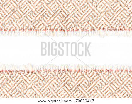 Edge Of A Strip Fabric