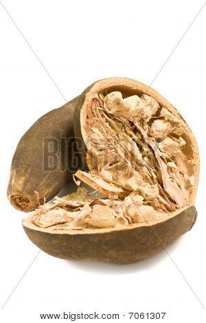 Isolated Baobab Fruit