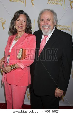 LOS ANGELES - AUG 22:  Jolene Schlatter, George Schlatter at the Television Academy�?�¢??s Producers Peer Group Reception at London Hotel on August 22, 2014 in West Hollywood, CA