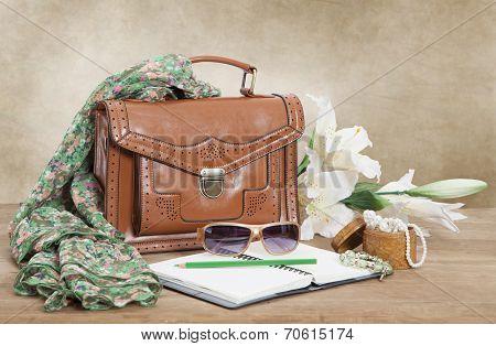 Leather Female Bag